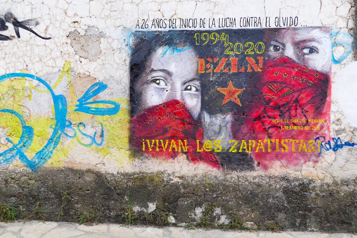 San Cristobal, es leben die Zapatisten