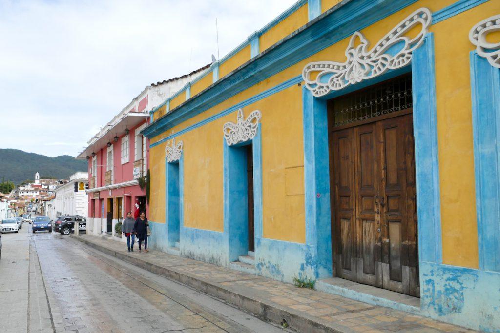 San Cristobal, schoene Hausfassaden