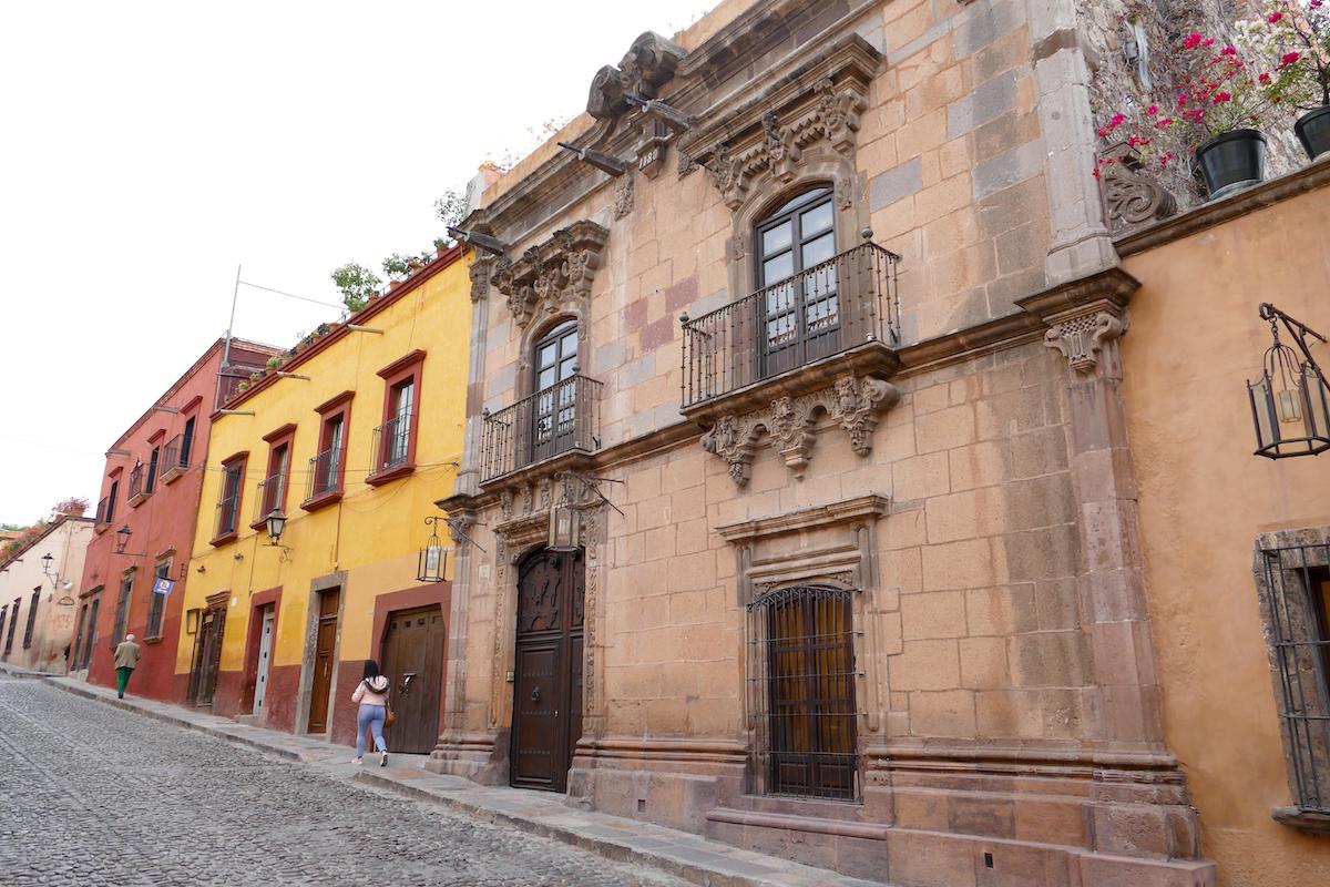 San Miguel de Allende, Altstadt