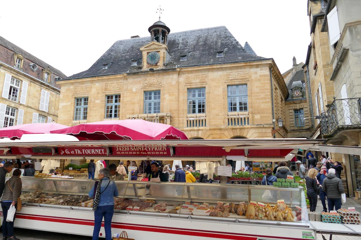 Sarlat Markt