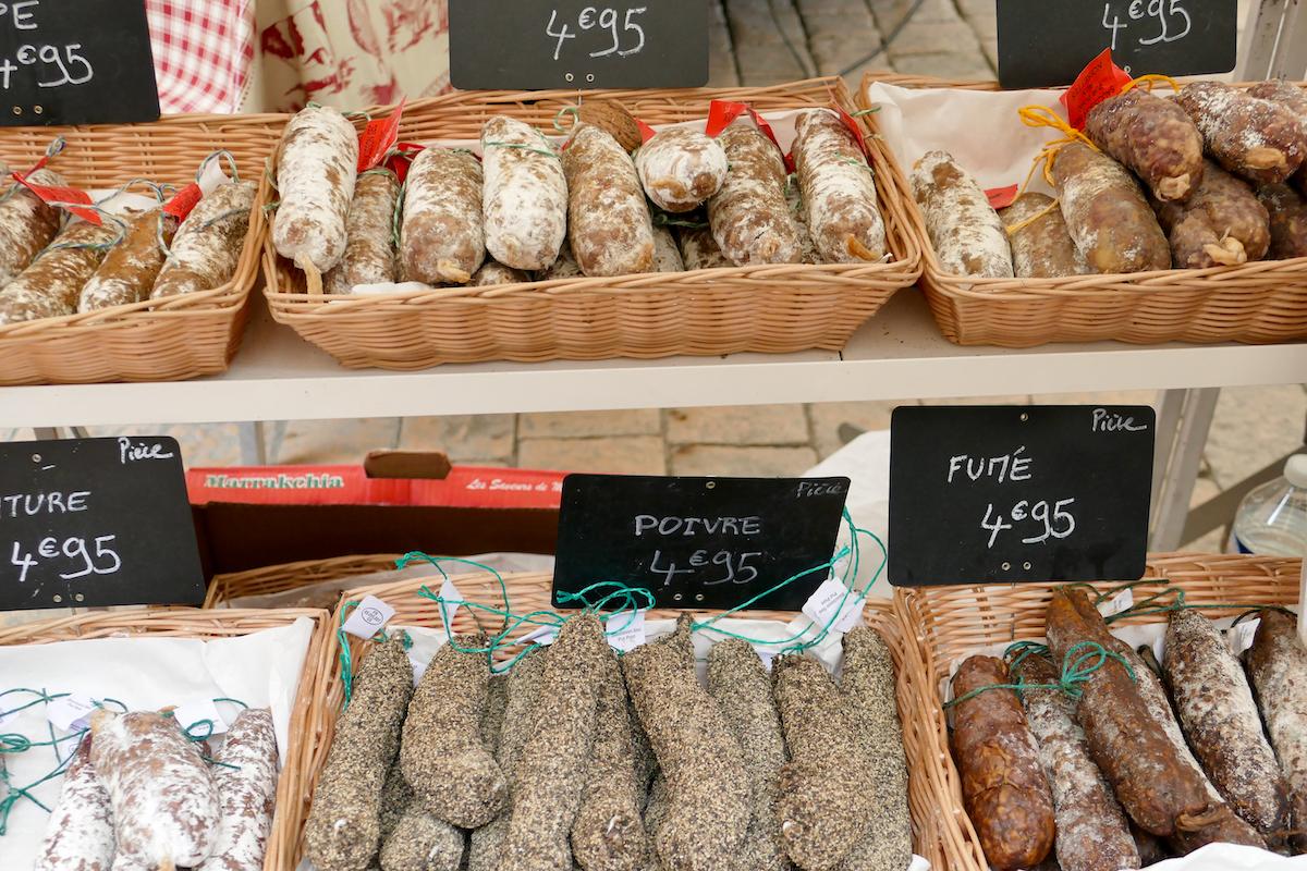 Sarlat Markt 02