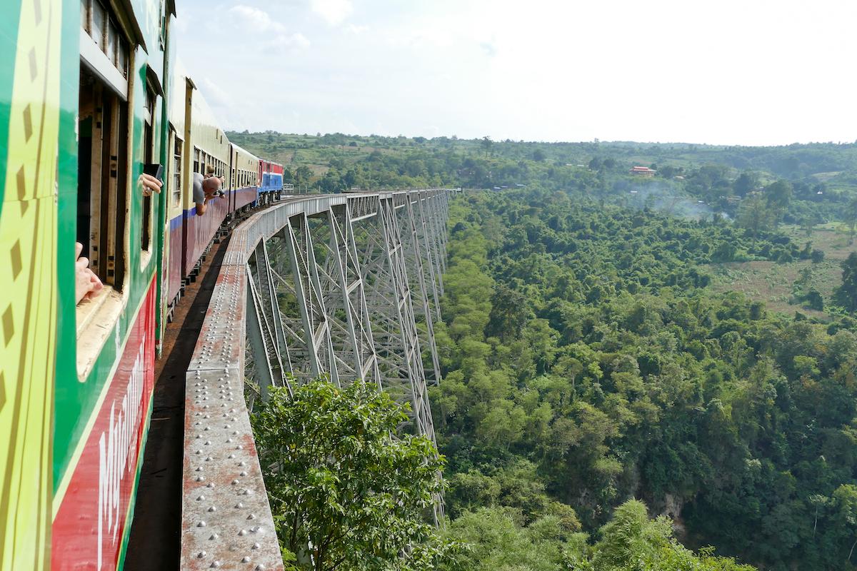 Shan State, Gokteik Viadukt, sehr beeindruckend