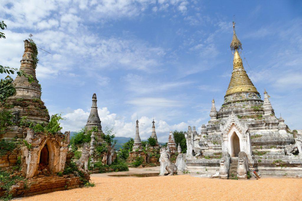 Shan State, Hsipaw, Little Bagan, ein Ort zum Traeumen