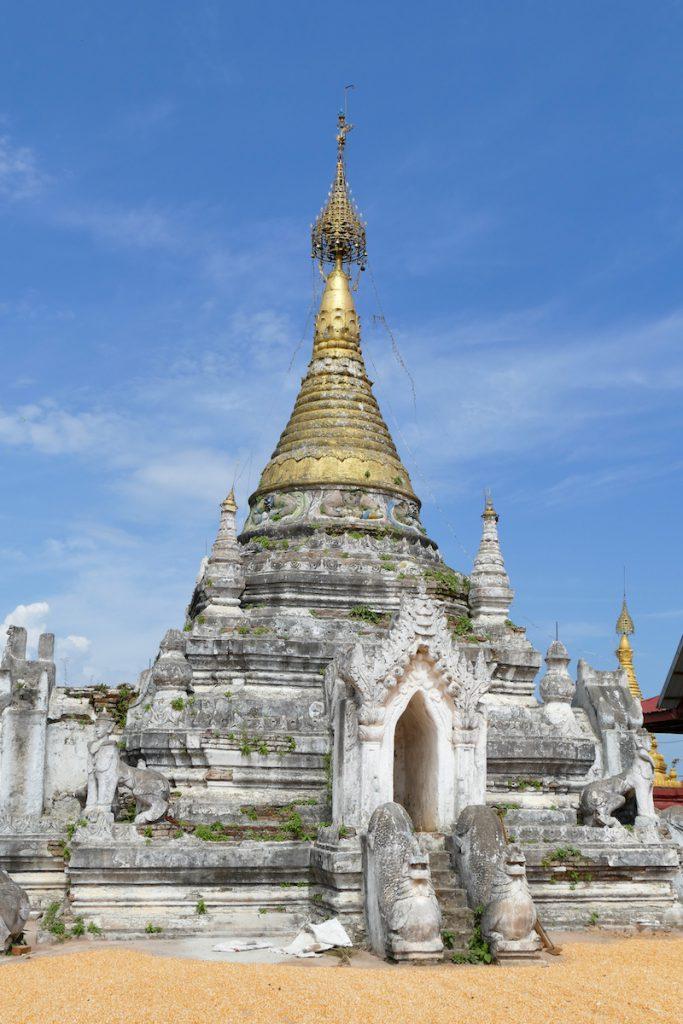 Shan State, Hsipaw, Little Bagan, noch kaum bekannt und doch so schoen