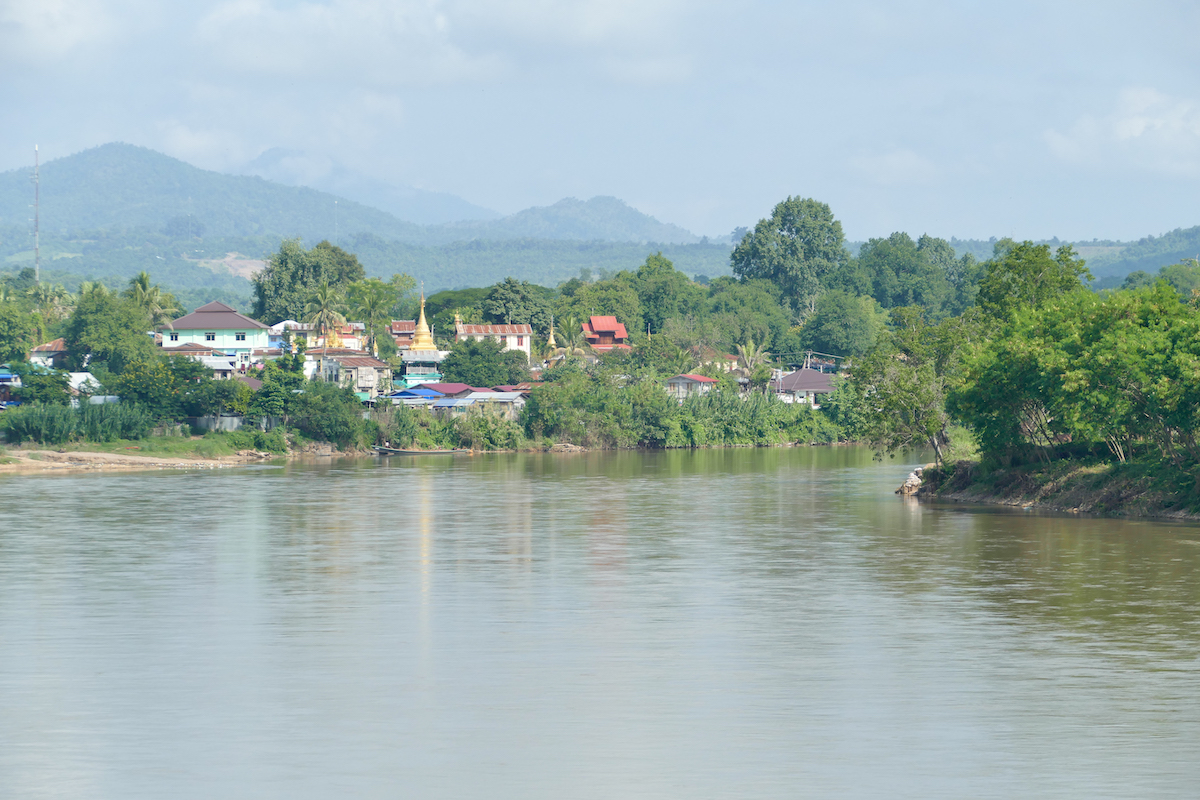 Shan State, Hsipaw, Postkartenkulisse