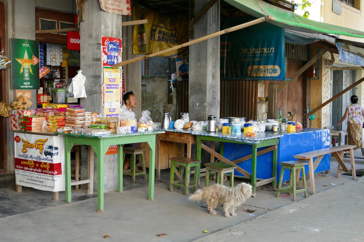 Shan State, Hsipaw, auf der Hauptstrasse