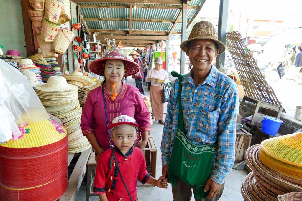 Shan State, Hsipaw, die Freundlichkeit ist umwerfend