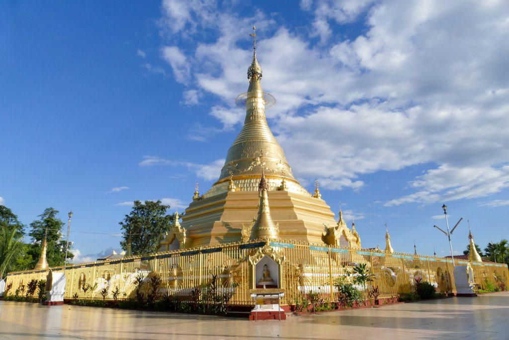 Shan State, Lashio, 2500 Jahre Thatana Pagoda
