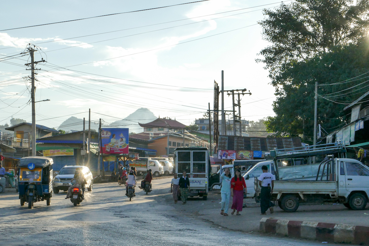 Shan State, Lashio, Downtown