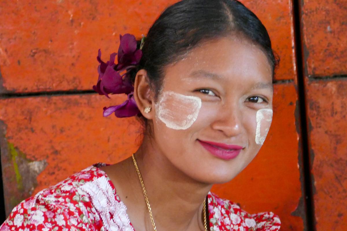 Shan State, Lashio, bezauberndes Laecheln