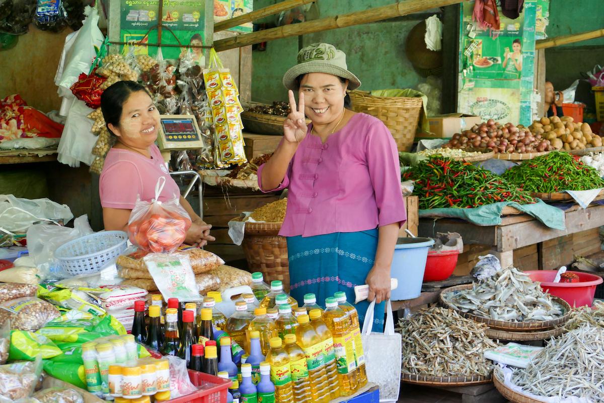 Shan State, Lashio, die Freundlichkeit ist umwerfend