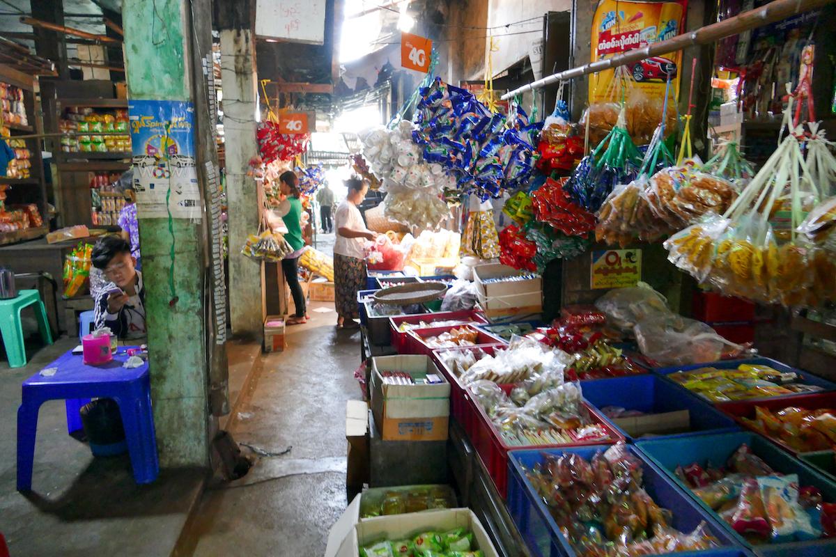 Shan State, Lashio, ein fantastischer Markt