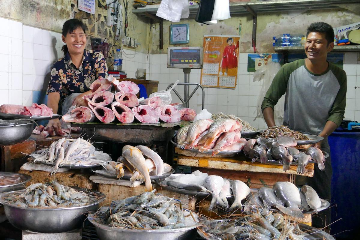 Shan State, Lashio, so viel Freundlichkeit ueberall