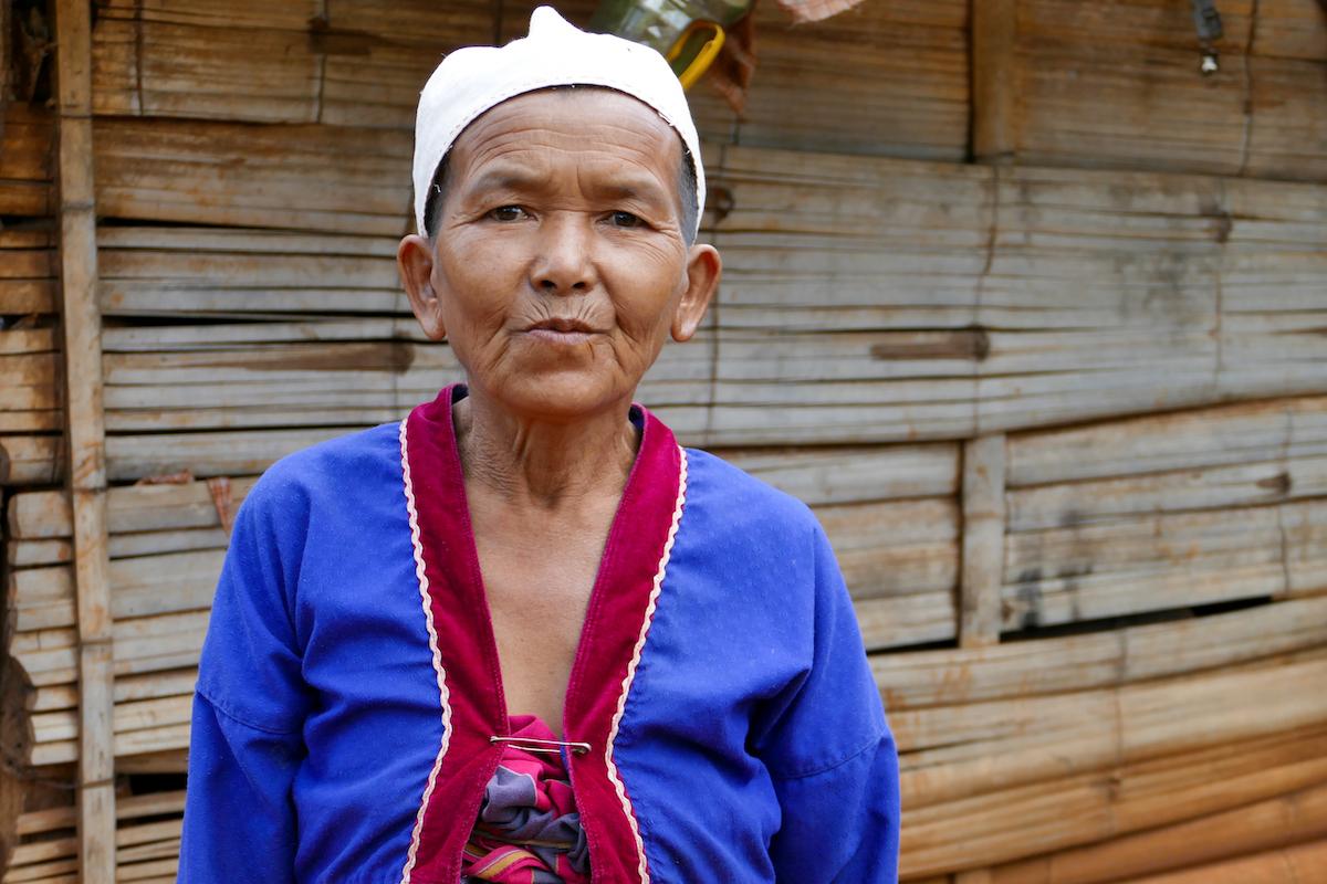 Shan State, Man Loi, Padaung Frau