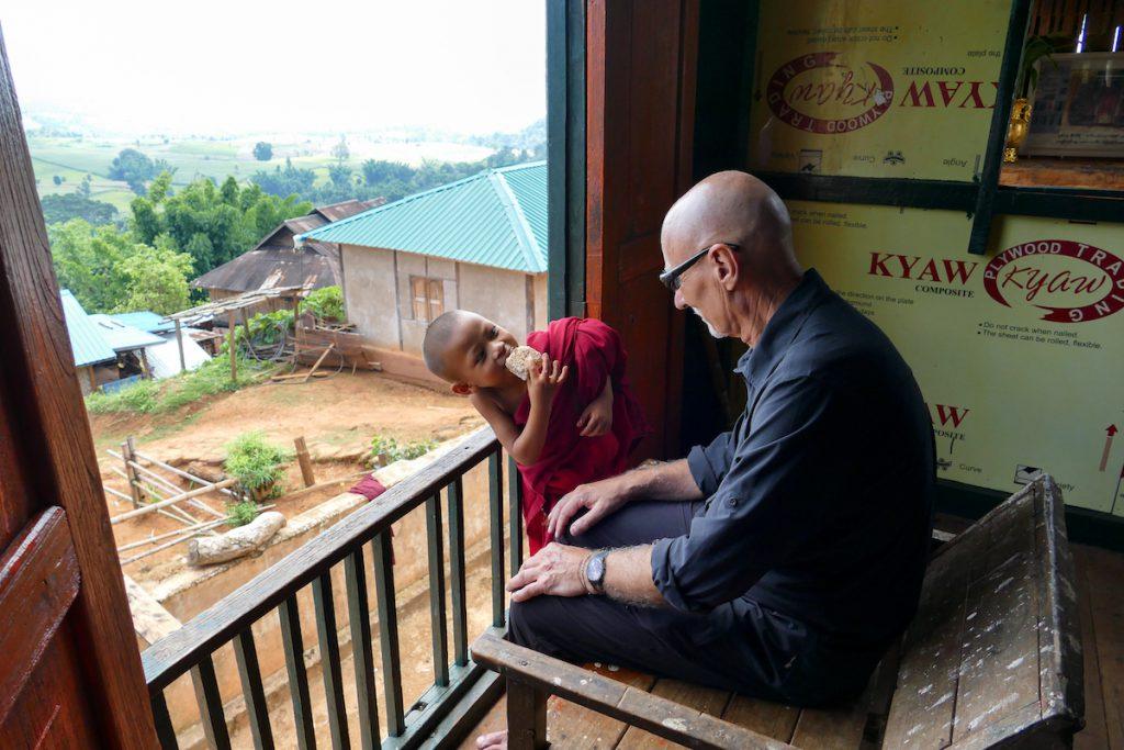 Shan State, Man Loi, der kleine Moench und Aras