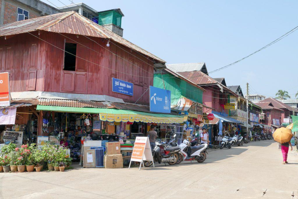 Tanintharyi, die ehemalige Provinzhauptstadt