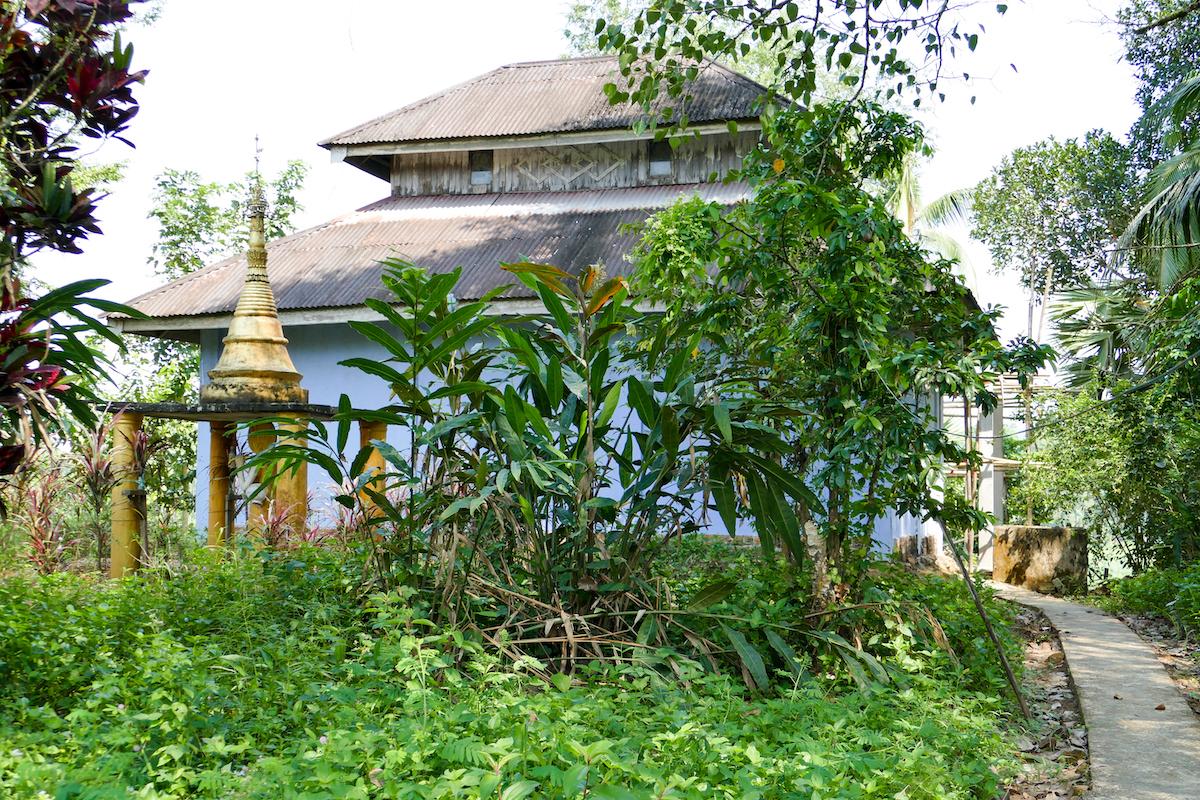 Tanintharyi, ein kleines Kloster