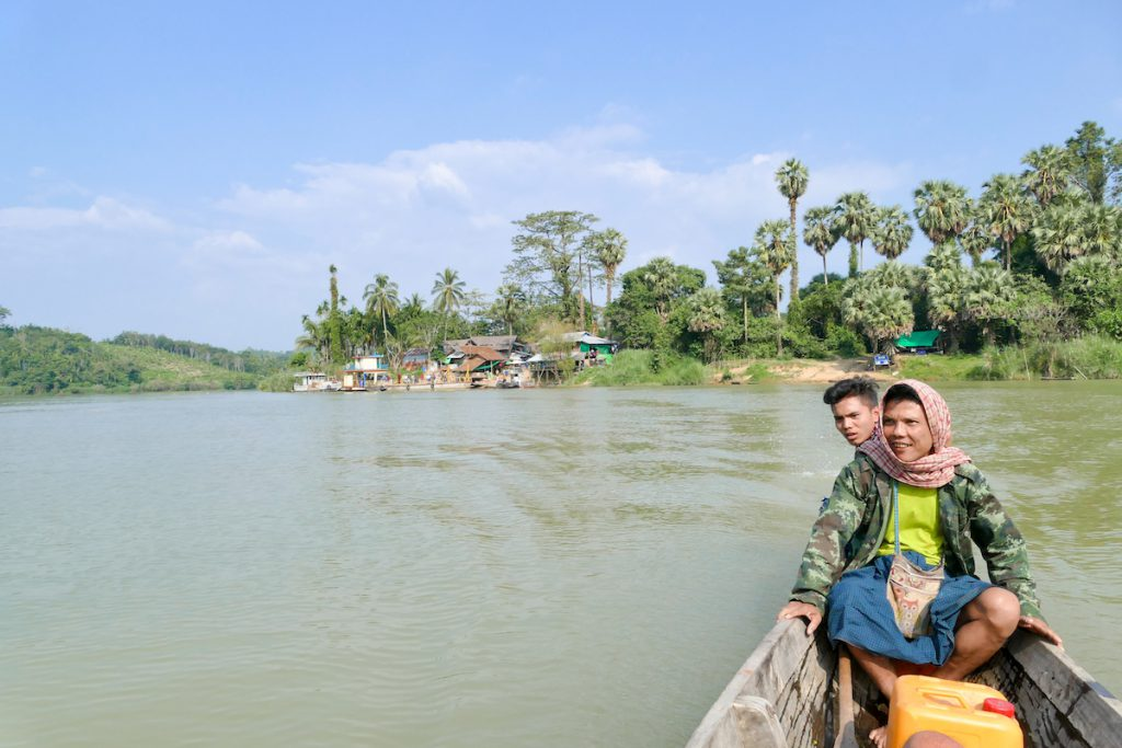 Tanintharyi, unsere beiden Bootsfuehrer