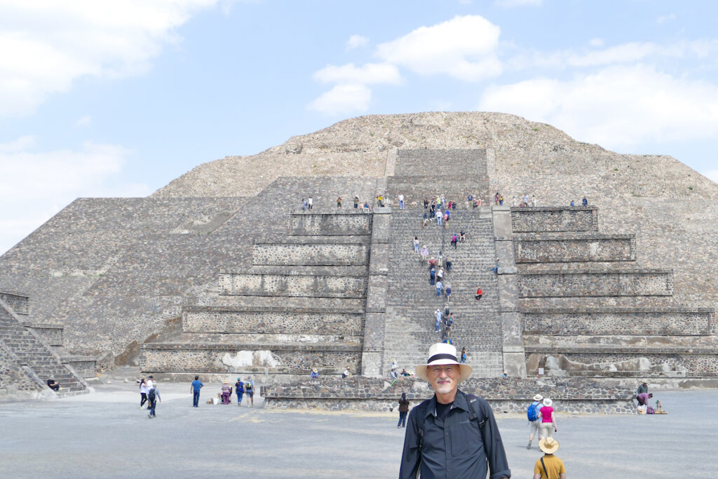 Teotihuacan, Aras vor der Mondpyramide