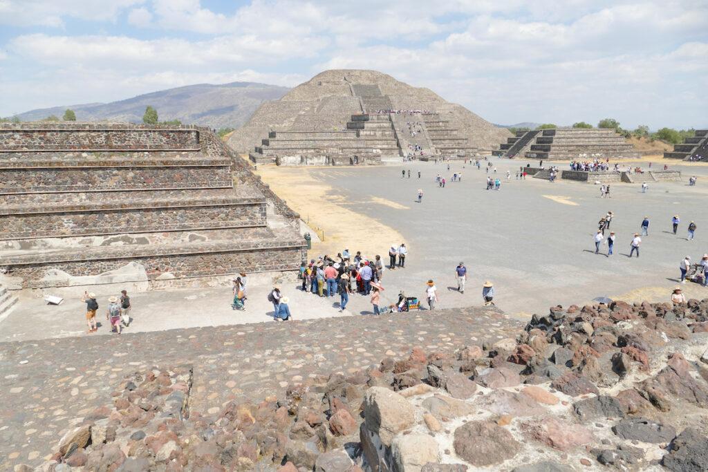 Teotihuacan, Mondpyramide