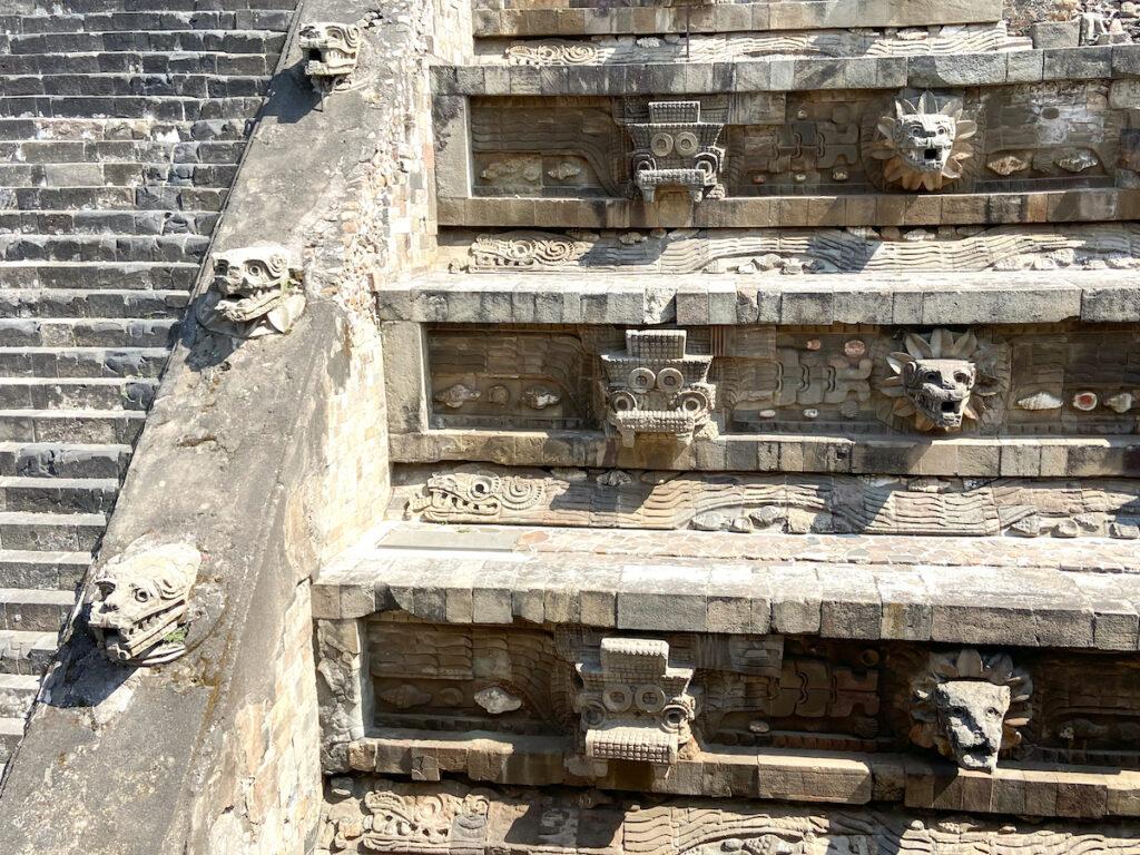 Teotihuacan, Quetzalcoatl Pyramide