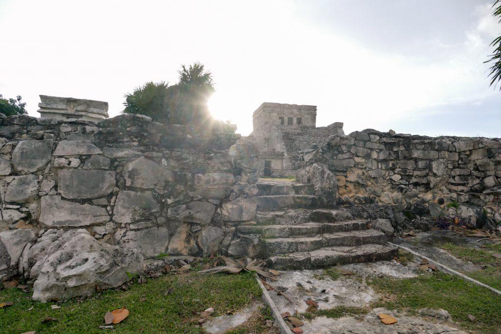Tulum, Blick auf das Castillo