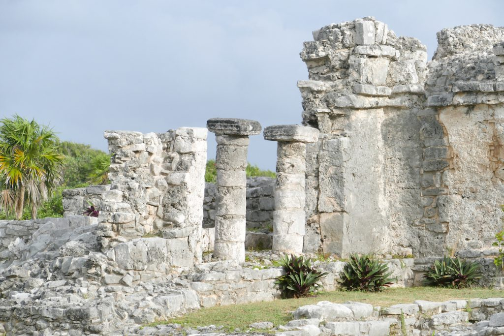 Tulum, Detail, Palace of the Great Lord