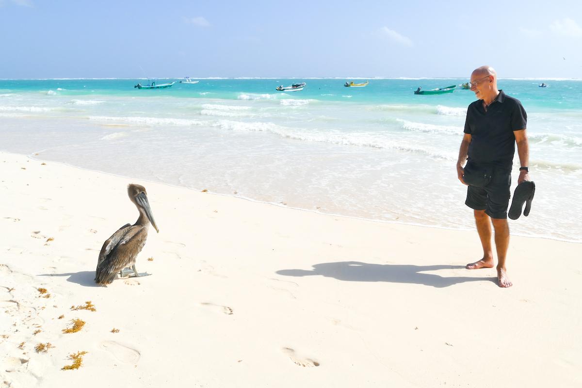 Tulum, Paradise Beach, ein toller Strand