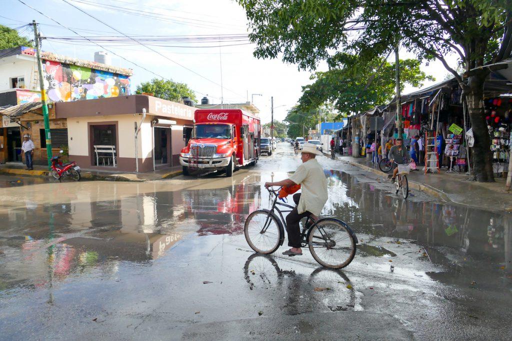 Tulum, in den Seitenstrassen taucht man ein in eine andere Welt