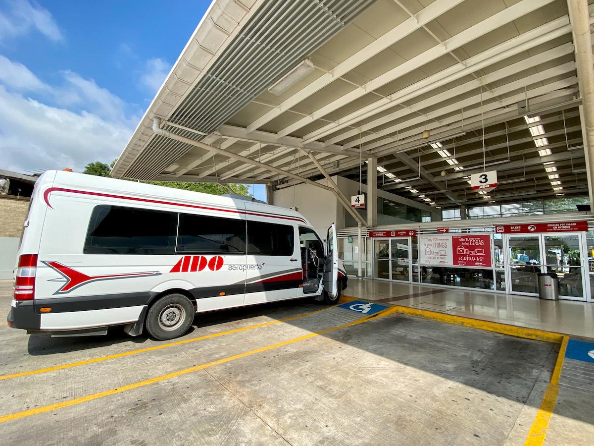 Unser Bus von Villahermosa nach Palenque