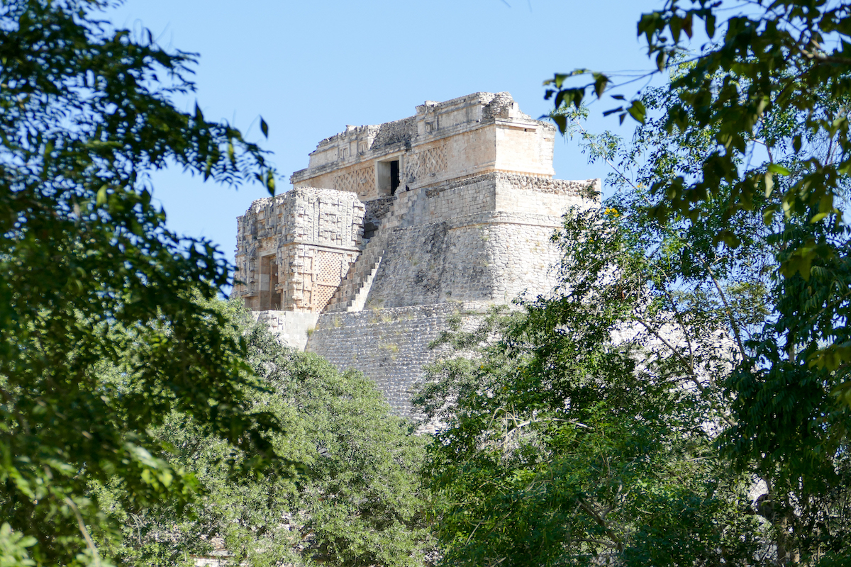 Uxmal, Advino Pyramide