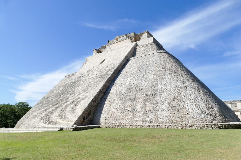 Uxmal, The Pyramid of the Magician