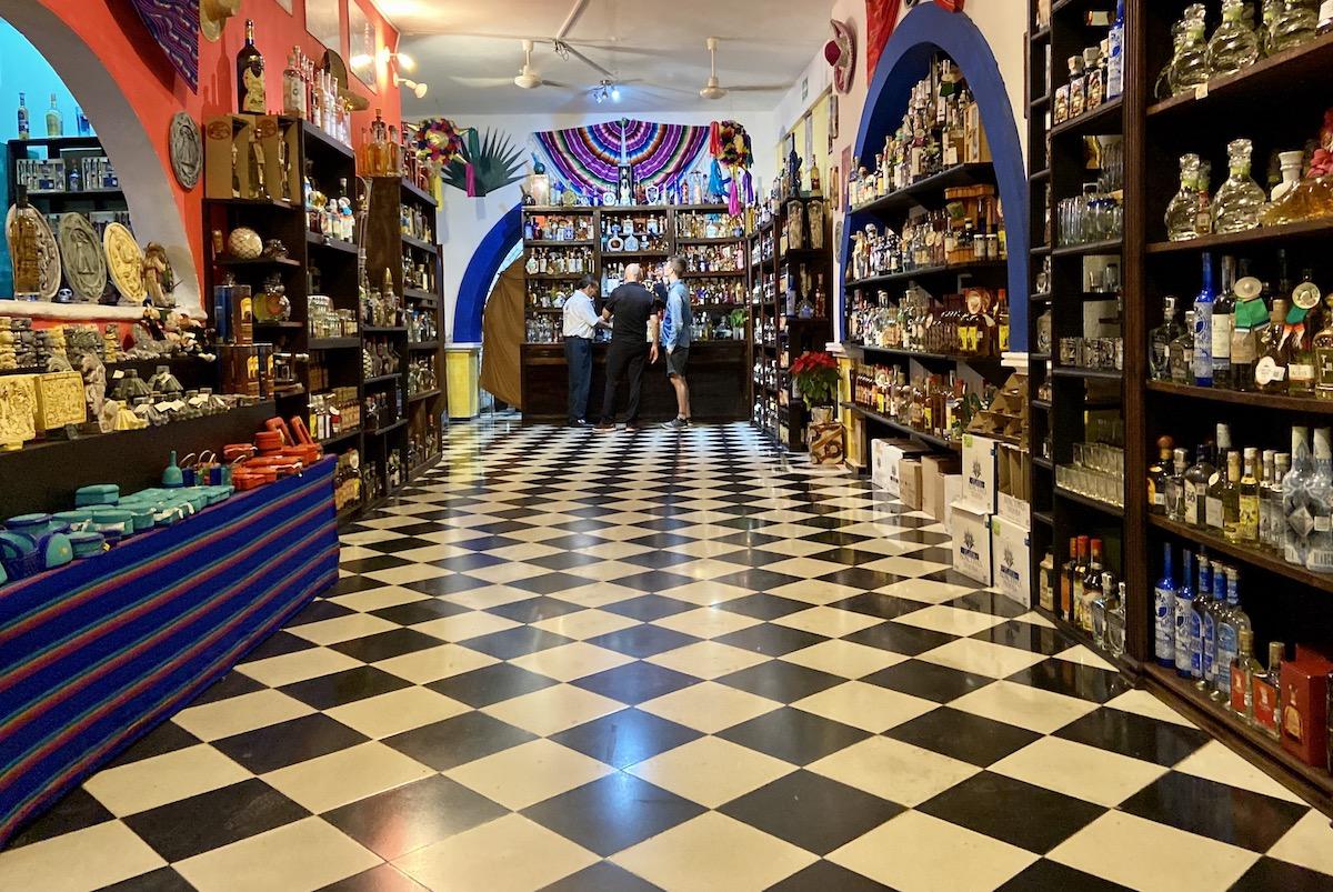 Valladolid, Tequila bis zum Umfallen