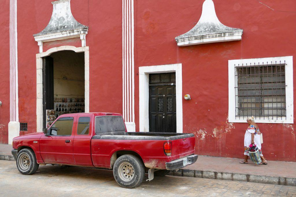Valladolid, die Farben haben es uns angetan