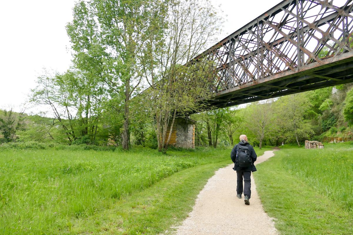 Wanderung nach Saint-Cirq-Lapopie