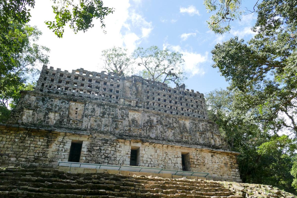 Yaxchilan, Edificio 3