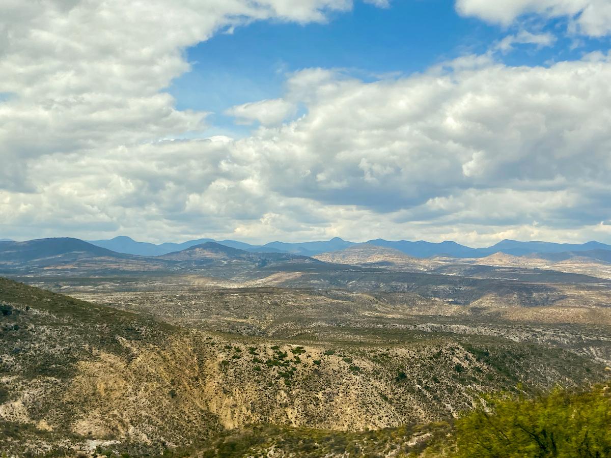 Zwischen Oaxaca und Puebla